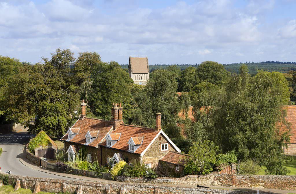 Castle Rising in Norfolk