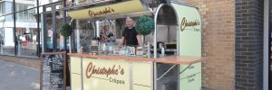 Christophe's Crepe van in Norwich