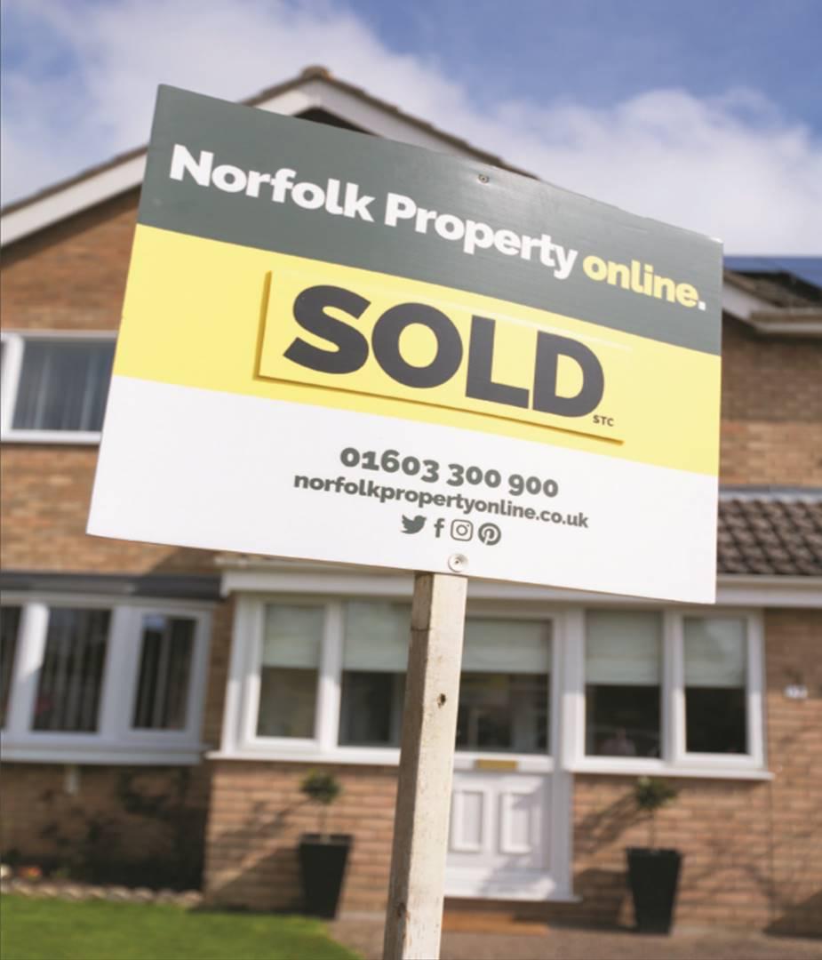 Norfolk Property Online for sale sign