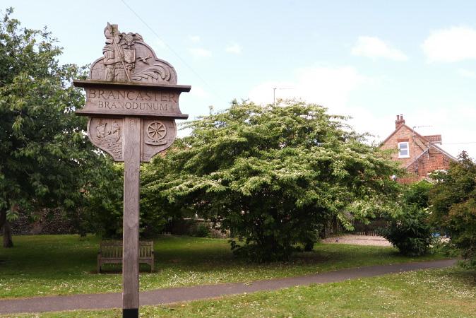 Brancaster village sign
