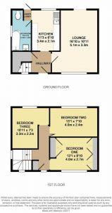 Floor plan for house on Gresham Road