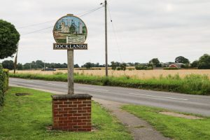 Rocklands village sign