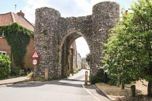 Bailey gate in Castle Acre