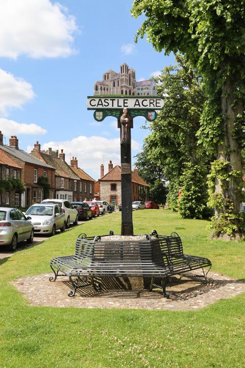 Castle Acre village sign